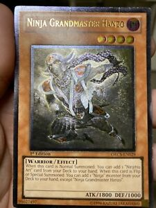 ULTIMATE Ninja Grandmaster Hanzo ORCS-EN029 1ST Yugioh Card PL