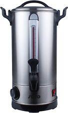 Heißwasserspender Glühweintopf Glühweinkessel Wasserkocher mit Zapfhahn 9 Liter