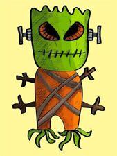 Monster Cartoon Art Posters