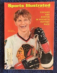 4.6.1970 KEITH MAGNUSON Sports Illustrated CHICAGO BLACKHAWKS -VINTAGE PRINT ADS