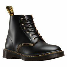 Dr.Martens 101 Arc 6 Eyelet Black Men Leather AirWair Casual Lace-up Ankle Boots