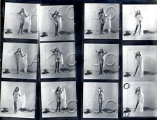 Yolanda Having Fun Nude R HENDRICKSON Negatives Photograph Contact Sheet D973