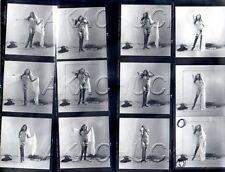Yolanda Having Fun Nude R HENDRICKSON Negatives Photograph Contact Sheet D973