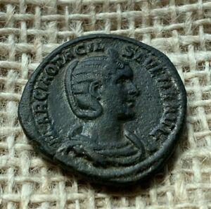 Octacilia Severa Bronze Sestertius AD245 to AD247 NEF