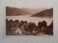 Vintage Postcard - Portincaple Looking to LOCH GOIL with Stamp (77)
