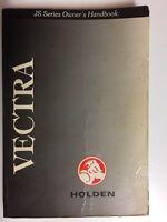 Holden Vectra JS Series Owners Handbook 1998 Car Manual Book