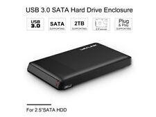 """Wavlink Cárcasa para Discos Duros Externos de 2.5"""" con USB 3.0 de Alta Velocidad"""