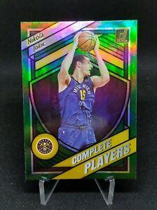 Nikola Jokic⚡2020-21 Donruss⚡Complete Players Green Flood⚡NBA Basketball Card