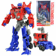 Transformers Human Alliance Optimus Prime Metal Action Figures Toy With Box new