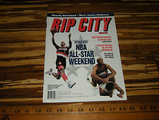 1994 RIP CITY MAGAZINE ALL STAR COVER & ROD STRICKLAND POSTER TRAILBLAZER