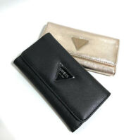 New With Box Abree SLG Triford Wallet Black & Gold Purse NWT SF602651