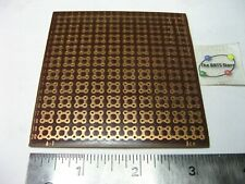 Perf Board Single Side Odd Solder Pads 3 38 Square 4mm Spacing Ace A 1 Nos