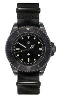 MWC 300m PVD Steel Military Quartz Submariners/Divers Watch   Sterile + Pheon