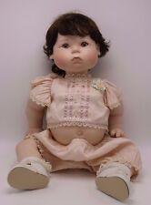 Signed & Numbered LE Vincent DeFilippo Porcelain Doll Violet Eyes 1997 EMILY