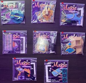 Vintage Set of 8 Magic Works / Tenyo / Milton Bradley / Setteducati Effects