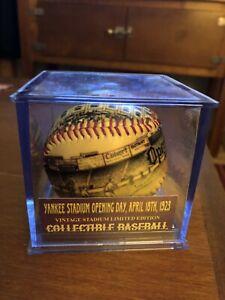 """Yankee Stadium Opening Day 1923 """"Unforgetaball"""" Baseball (New York Yankees)"""