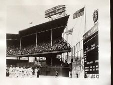 Brooklyn Dodgers - Pennant Raised In Brooklyn - 1942 Ny Times Photograph
