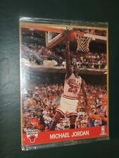 Sealed 1990 Hoops 8x10 Michael Jordan Chicago Bulls  **Free Shipping**