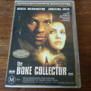 The Bone Collector Special Edition DVD R4 Like New! FREE POST