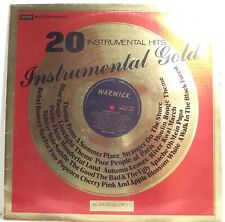 "INSTRUMENTAL GOLD Various Artists LP Album 12"" 33rpm Vinyl VG"