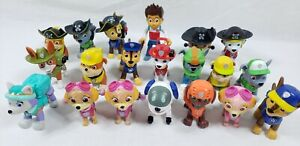 Paw Patrol Mixed Lot of 20 Figures Pirate Paws,  Zuma, Robodog, Everest + More!