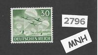 MNH stamp / 1943 /  PF30 + PF30 / Military Wehrmacht Airborne  / WWII Germany