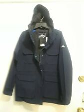 "PENFIELD WOMEN'S ""KASSON"" HOODED NAVY PARKA SIZE: XS"