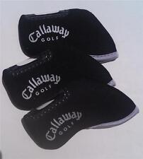 10 x Golf Iron Head Covers - Suit Callaway - New - Black