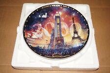Bradford Exchange Tribute 2000 By David Henderson Limited Edition Plate #1309A