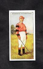 1930 Ogden's Cigarette Card Jockey 1930 No41 K. Robertson