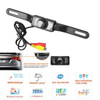 NEW Car Rear View Backup Reversing Reverse Camera Night Vision 7 IR LED Rearview