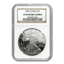 2000-P Proof Silver American Eagle PF-69 UCAM NGC