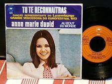 ANNE MARIE DAVID Tu te reconnaitras EUROVISION 1973 press portugais EPC 1353