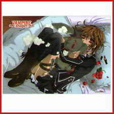 Vampire Knight Wall Scroll Silk Print Fabric Anime Banner Yuki and Bear - GE5367