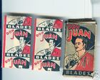 Old Package Don Juan Razor  Blades Great Graphics  Two Blades