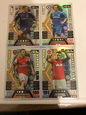 MATCH ATTAX 2013/14 FULL SET OF ALL 4 100 101 HUNDRED CLUBS NO 441-444 P FRESH
