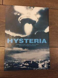 Rezerection / Hysteria Rave Flyer