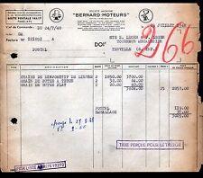 """PARIS (XVII°) MOTEURS """"S.A. MOTEURS BERNARD""""  1948"""