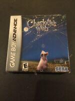 Charlottes Web - Nintendo Gameboy Advance (2006)* Brand New Factory Sealed *