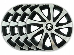 HUBCAPS 16 fit to PEUGEOT 407 307 308 207 508 5008 DRM