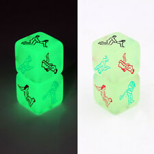 Glow in Dark Sex Game Dice Couple Foreplay Aid Adult Toy Gift For Him and Her US