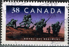 Canada Army Royal 22nd Regiment stamp 1976
