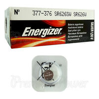 1 x Energizer 377 376 battery Silver Oxide 1.55V SR66 SR626SW Watch