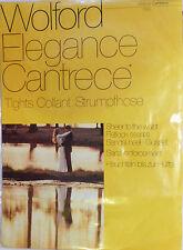 Wolford Taglia Small eleganza vintage cantrece Collant in una tonalità Inka Tan