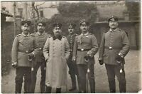 GERMAN OFFICERS SWORDS WW1 ARMY WAR RPPC ANTIQUE PHOTO POSTCARD