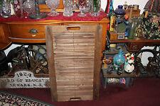Antique Primitive Americana Wood Tape Loom-Large Loom-47 Slats-Country Decor