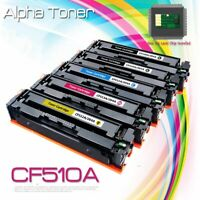 For HP CF510A -3A 204A LaserJet Pro M154nw M180nw M181fw MFP Toner Cartridge Set