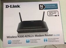 D-Link Wireless Modem Router 300 Mbps n300 ADSL 2+ dsl-2750b equal to the new