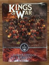 Kings Of War: Forces Of The Abyss Lower Abyssals Regiment