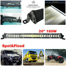 "1pcs 80W 20"" LED Work Light Bar Offroad 4WD ATV Truck Boat Spot Flood Beam 12V"